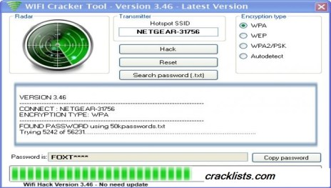 WiFi Password Hacking Software Free Download Full Version With Crack For PC