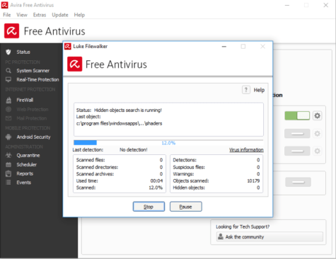 Download Avira Free Antivirus 2018 for Windows 7/10