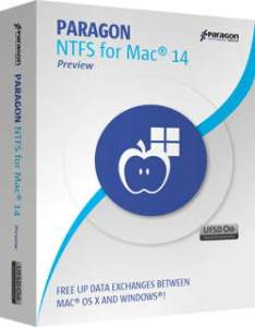Paragon NTFS 14 Crack for Mac OS X Final Free Download