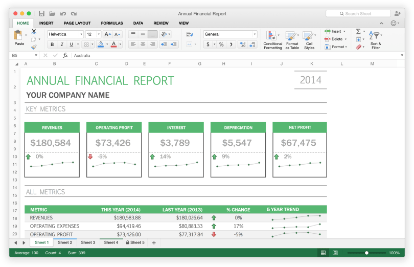 Microsoft Excel 2016 for Mac - Free download