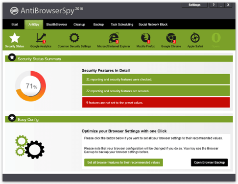 Abelssoft AntiBrowserSpy Pro 2016.173 Crack, Key Free Download