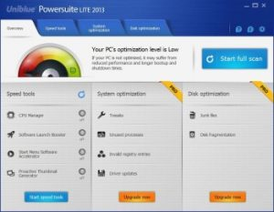 Uniblue PowerSuite 2016 Crack Free Serial Key Download