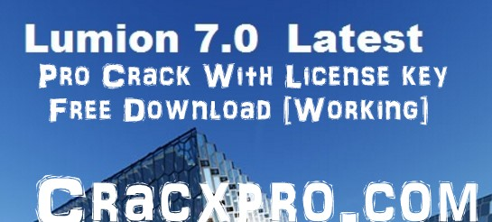 Lumion 8 PRO Crack + License Key 2018 Free Download
