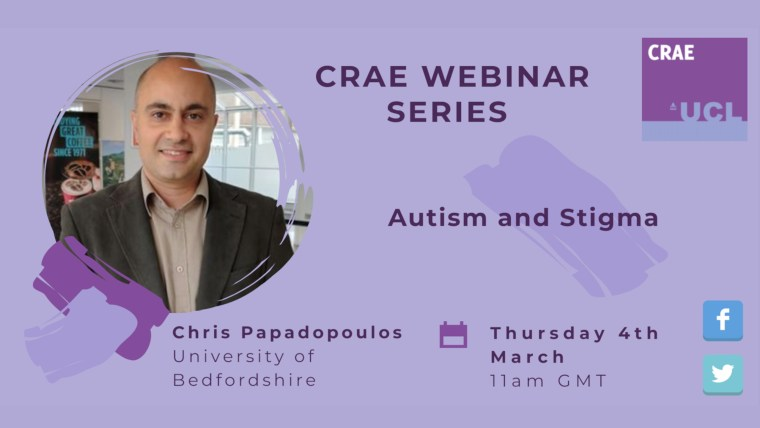 Chris Papadopoulos's event banner, in colour.