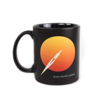 Mug for Space Launch System