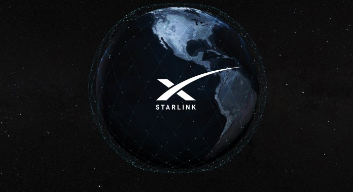 Starlink coverage Earth SpaceX 2