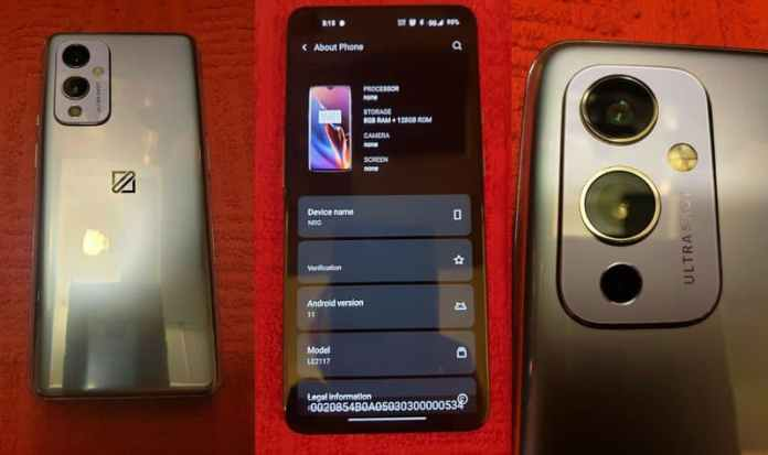 OnePlus 9 Prototype on Sale on eBay by Unknown