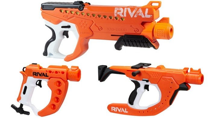 NERF Rival Curve Shot blasters