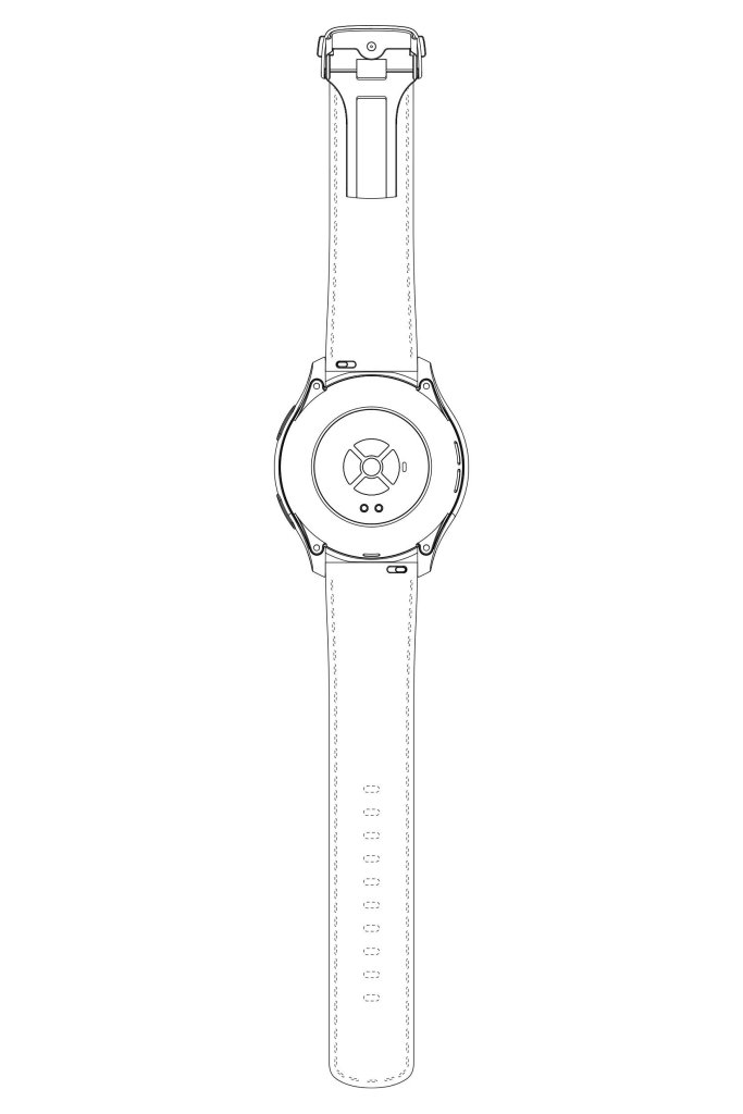 oneplus watch leather back