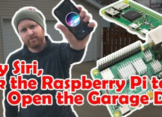 Raspberry Pi powered Siri-controlled garage door management system - Craffic