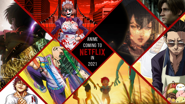 Netflix has announced 40 new anime titles for 2021 - Craffic