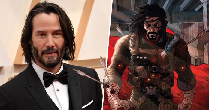 """Netflix is bringing Keanu Reeves' comic """"BRZRKR"""" on screen as a live-action movie and anime"""