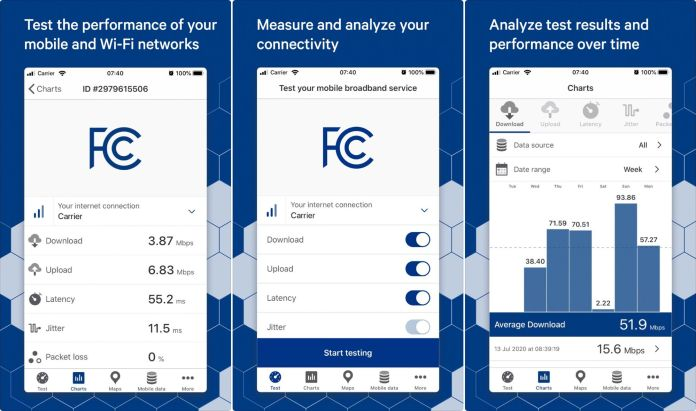 FCC Speed Test App Launched for Android and iOS - Craffic