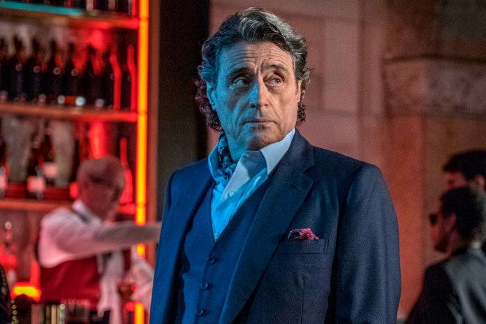 Ian McShane playing the role of young Winston in The Continental
