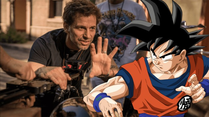 """Zack Snyder wants to direct a live-action """"Dragon Ball Z Movie"""