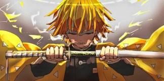 Demon Slayer Official Zenitsu's Deadly Nichirin Blade Replica Announced