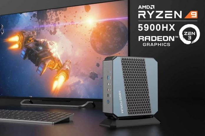 Miniforum launches EliteMini HX90 with AMD Ryzen 9 5900HX