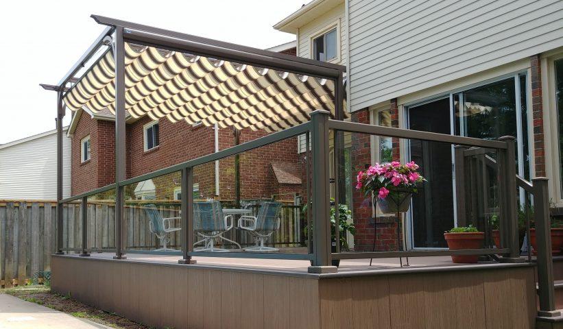 retractable canopy pergola canopy