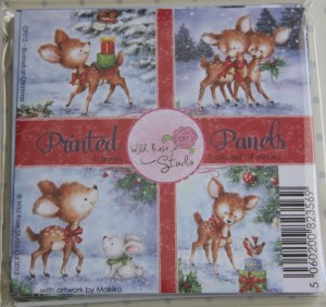 Wild Rose Studio 'Bluebell a Christmas' Printed Panels CP012