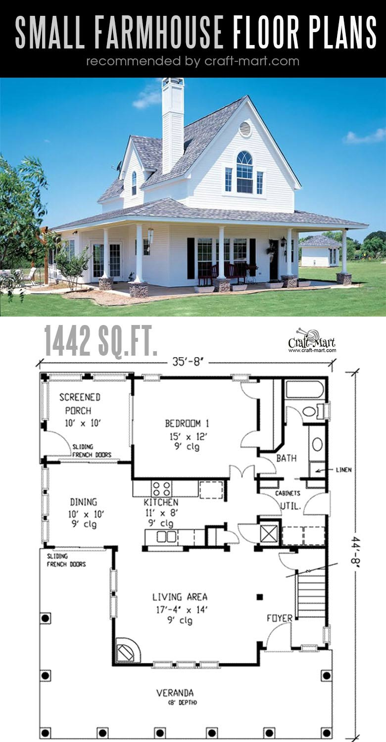 Small Modern Farmhouse Plans For Building A Home Of Your Dreams Craft Mart