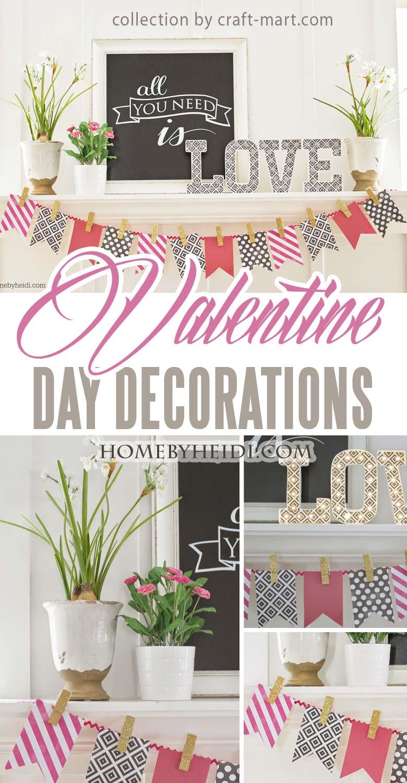 09 Easy Valentine Day Home Decor Craft Mart Craft Mart