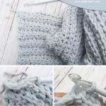 Simple And Easy Crochet Blanket Tutorial Free Bernat Blanket Yarn Pattern Craft Mart