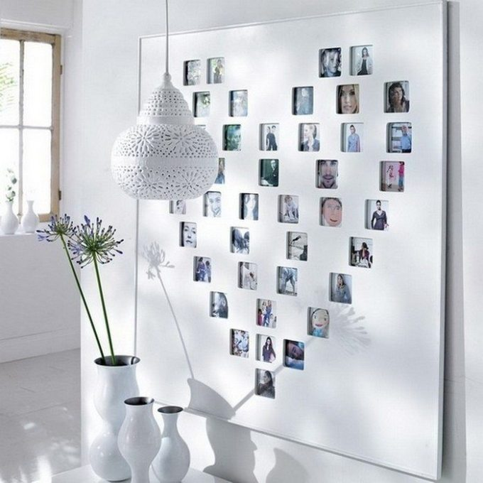 Ideas For Hanging Pictures On Wall Without Frames   Frameimage.org