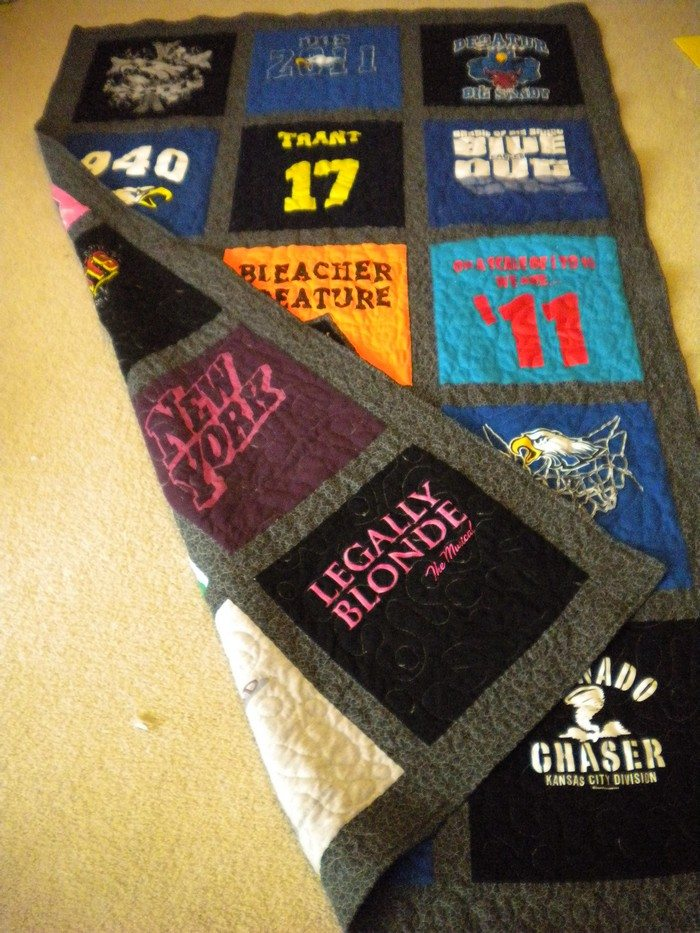 Ideas Tshirt Quilts