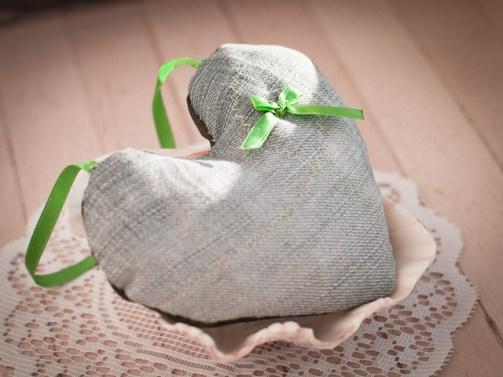 denim with cute ribbon