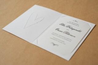Inside the horizontal invitation.