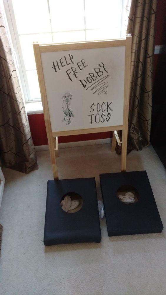 Dobby Sock Toss