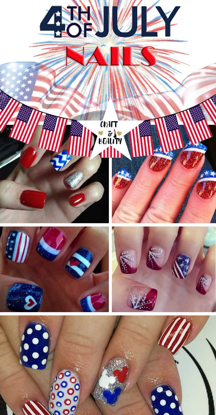 Best July 4th Nails
