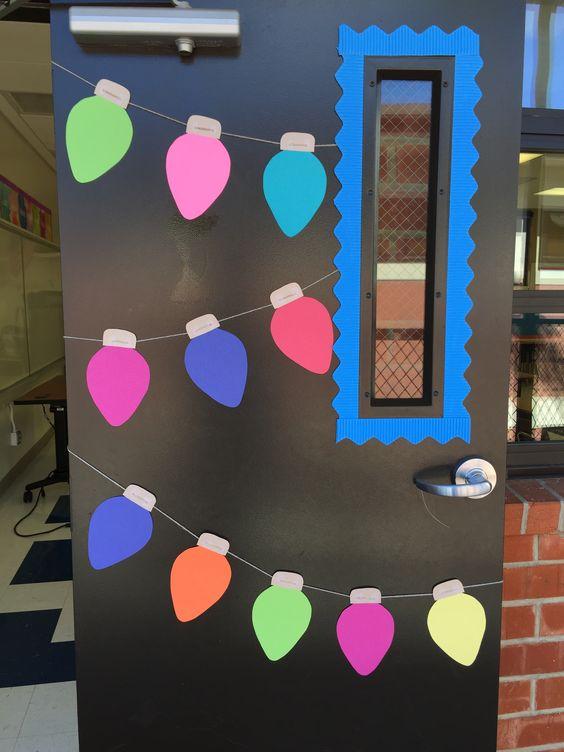 Christmas Classroom Door Decor