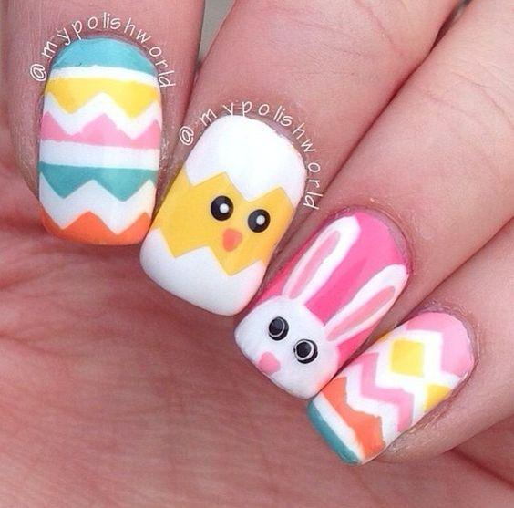 Easter Nail Ideas #easternails
