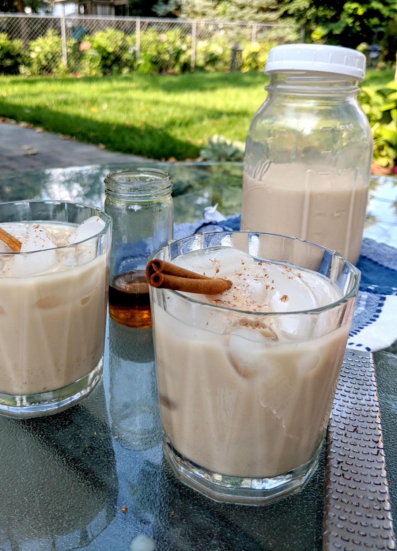 Iced Chai Tea Craft Process