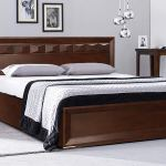 Buy Online Wooly Sheesham Wood King Size Bed For Bedroom Wood Furniture Craftatoz In