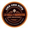 115 Brewhouse logo