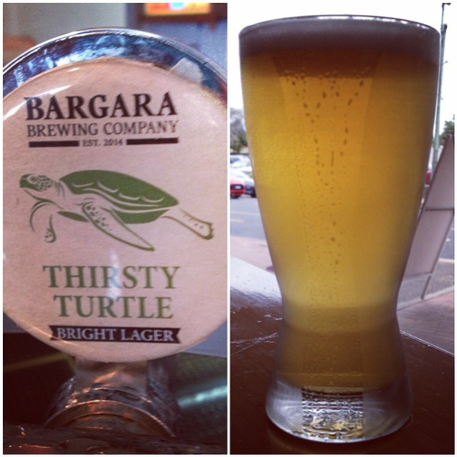 Bargara Brewing Company Thirsty Turtle Bright Lager (4.5%)