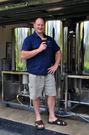Lee McAlister-Smiley of White Lies Brewing Co, Brisbane