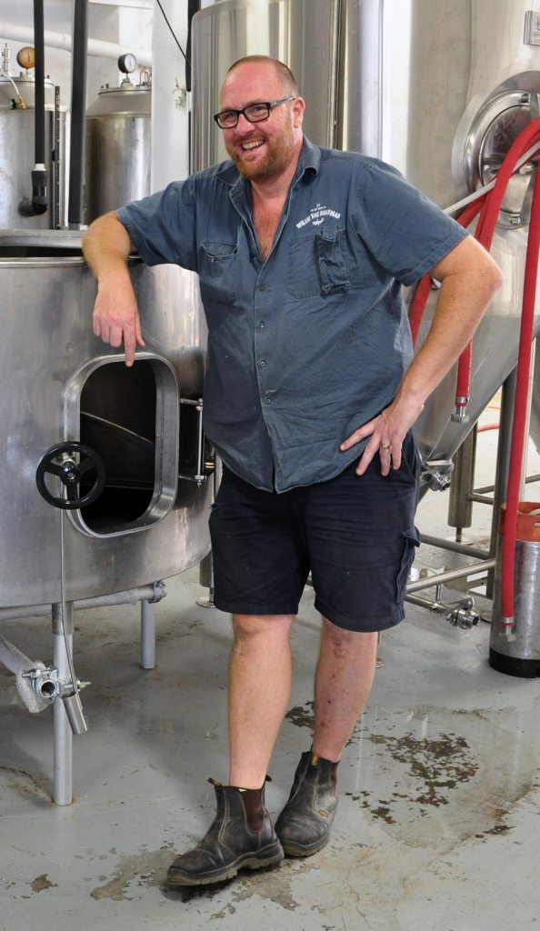 Pat McInerney of Willie the Boatman brewery, Sydney