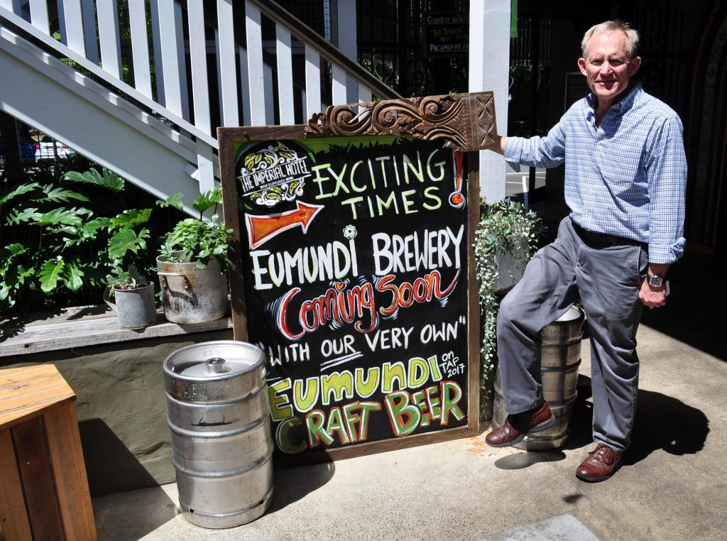 Chuck Hahn Eumundi Brewing