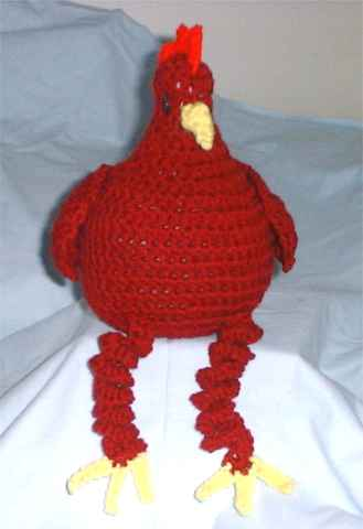Cool Chicken Crochet Pattern