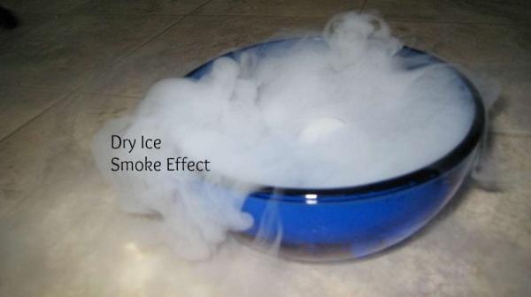 Spooky Dry Ice Smoke