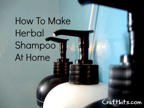 Home made Herbal Shampoo