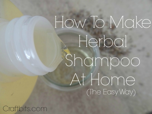 Home Made Herbal Shampoo