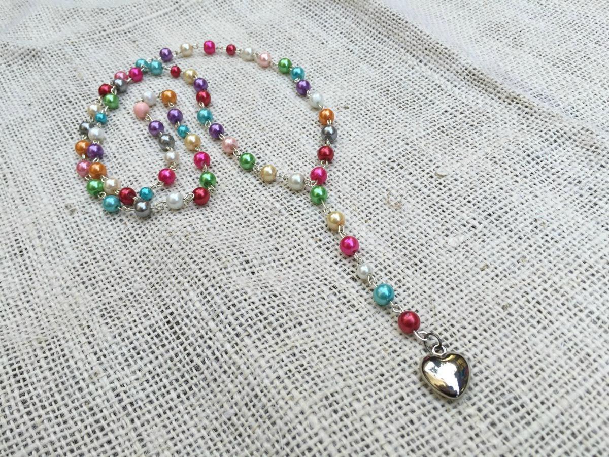 DIY Rosary Necklace