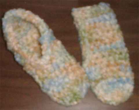 Charity Crochet Pattern – Bed Slippers
