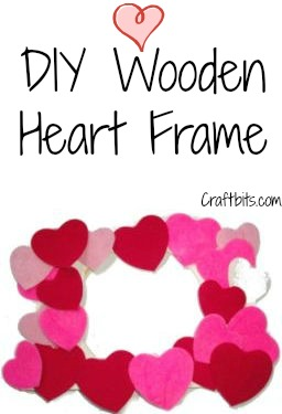 Kids Craft – Wooden Heart Frame