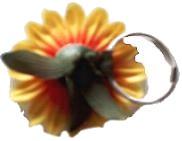 Flower Hair Bands Back