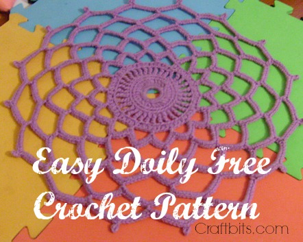 Easy Crochet Doily